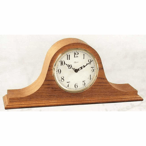 Kitts I Keywound Single Chime Mantel Clock by Hermle