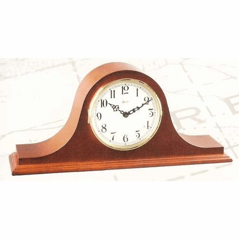 Kitts II Keywound Single Chime Mantel Clock by Hermle