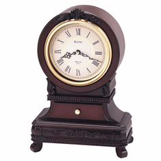 Knollwood Mantel Clock by Bulova
