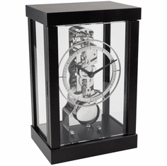 Kolton Mantel Clock Black by Hermle