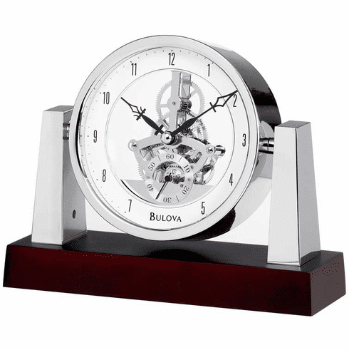 Largo Mantel Clock by Bulova