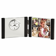Lawson Picture Frame Alarm Clock by Howard Miller