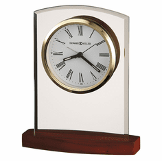 Marcus Alarm Table Clock by Howard Miller