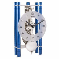 Mikal Mantel Clock Blue by Hermle
