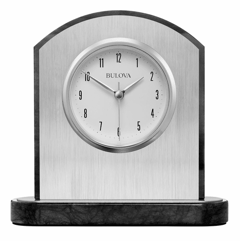 Mirage Mantel Clock by Bulova