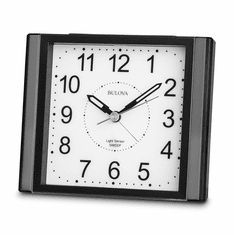 Moonbeam Alarm Clock by Bulova