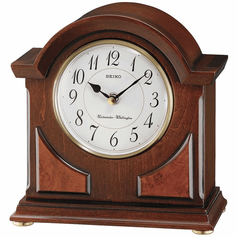 Nathan Mantel Clock by Seiko