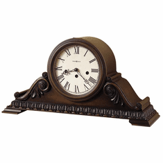 Newley Key Wound Mantel Clock by Howard Miller
