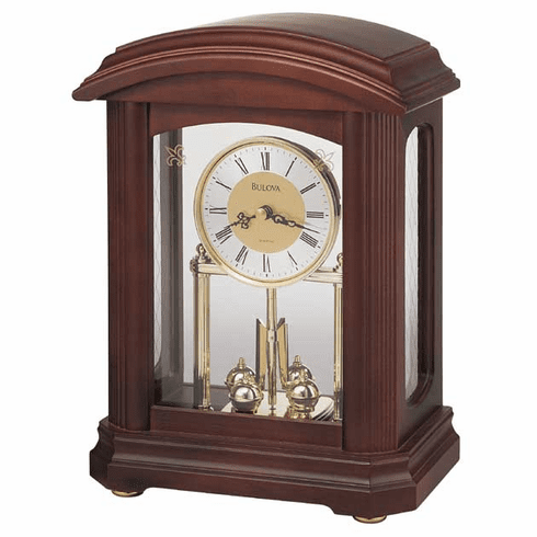 Nordale Mantel Clock by Bulova
