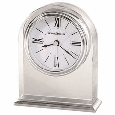 Optica Mantel Clock with Alarm by Howard Miller