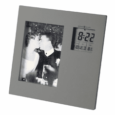 Picture This Picture Frame Alarm Clock by Howard Miller