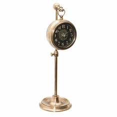 Pocket Watch Woodburn Mantel Clock