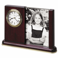 Portrait Caddy Picture Frame Clock by Howard Miller