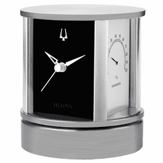 President Picture Frame Clock by Bulova