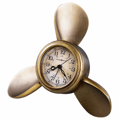 Propeller Alarm Mantel Clock by Howard Miller