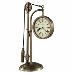 Pulley Time Mantel Clock by Howard Miller