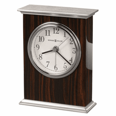 Regal Alarm Table Clock by Howard Miller