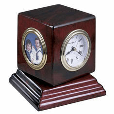 Reuben Picture Frame Clock by Howard Miller