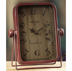 Rosa Table Clock by Manual Woodworkers and Weavers