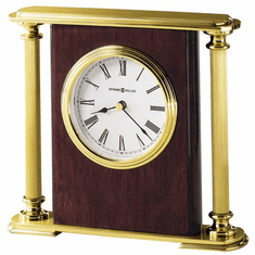 Rosewood Encore Quartz Mantel Clock by Howard Miller