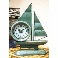 Sailing Table Clock by Manual Woodworkers and Weavers