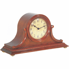 Scottsville Cherry Mantel Clock by Hermle