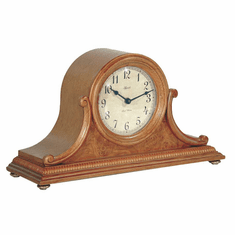 Scottsville Oak Mantel Clock by Hermle