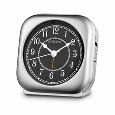 Silent Knight Alarm Clock by Bulova