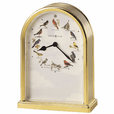 Songbirds of North America III Quartz Mantel Clock