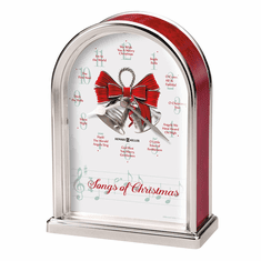 Songs of Christmas Table Clock by Howard Miller