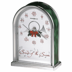 Sounds of the Season Quartz Mantel Clock by Howard Miller