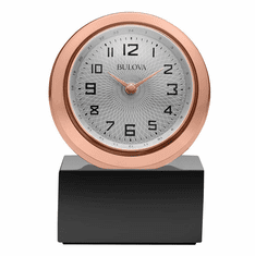 Sphere Mantel Clock by Bulova