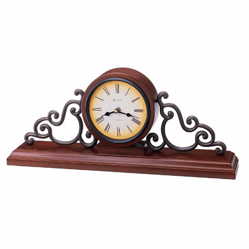 Strathburn Mantel Clock by Bulova