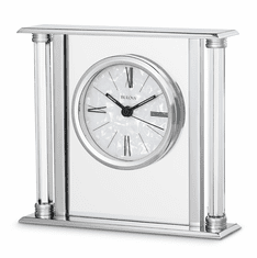 The Pearl Mantel Clock by Bulova
