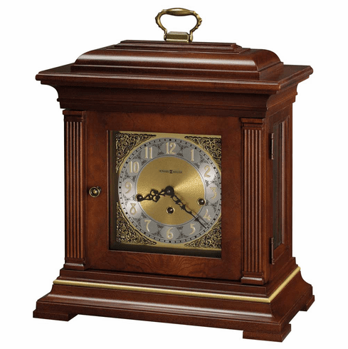 Thomas Tompion Key Wound Mantel Clock by Howard Miller