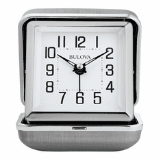 Traveler Alarm Clock by Bulova