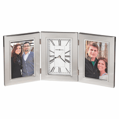 Trio Picture Frame Clock by Howard Miller