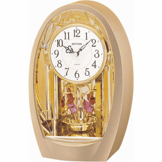 Tulip Mantel Clock