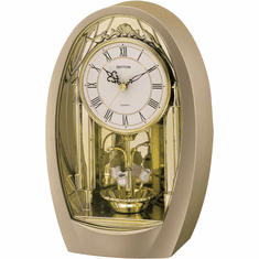 Tulip Mantel Clock by Rhythm