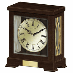 Victory Mantel Clock by Bulova