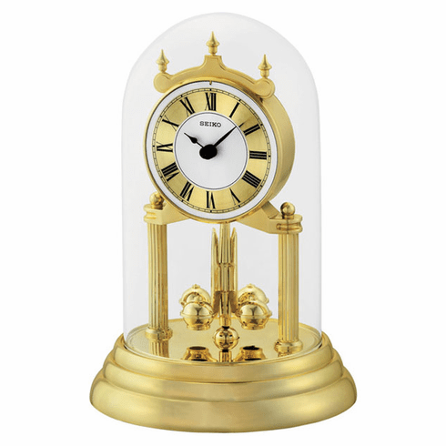 Waterbury Gold Anniversary Clock by Seiko