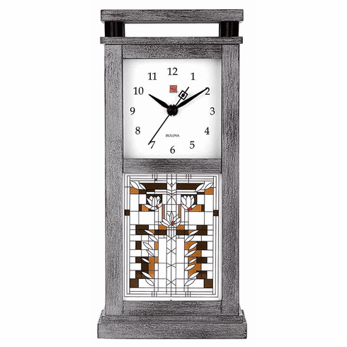 Waterlilies Bluetooth Enabled Mantel Clock by Bulova