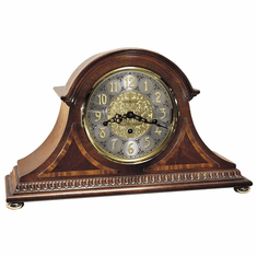 Webster Key Wound Mantel Clock by Howard Miller