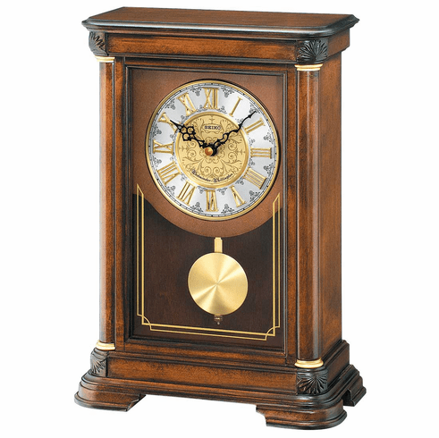 Wesley Mantel Clock by Seiko