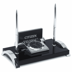 Wiles Desk Set Clock by Citizen