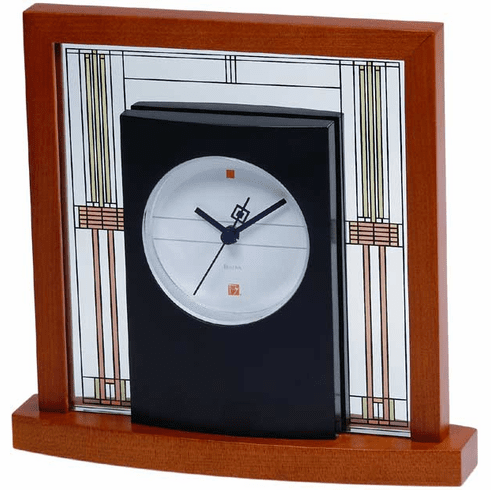 Willits Table Clock by Bulova