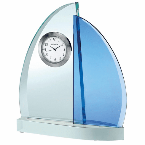 Windswept III Mantel Clock by Bulova