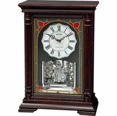 WSM Amsterdam Mantel Clock by Rhythm Clocks