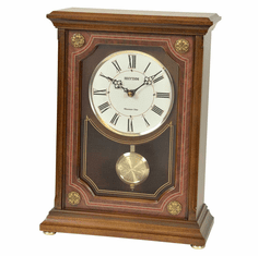 WSM Lincoln Mantel Clock by Rhythm Clocks