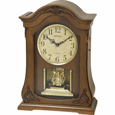 WSM Luminous Queen Mantel Clock by Rhythm Clocks